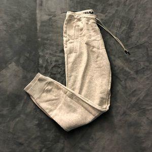 Nike's women's grey sweatpants